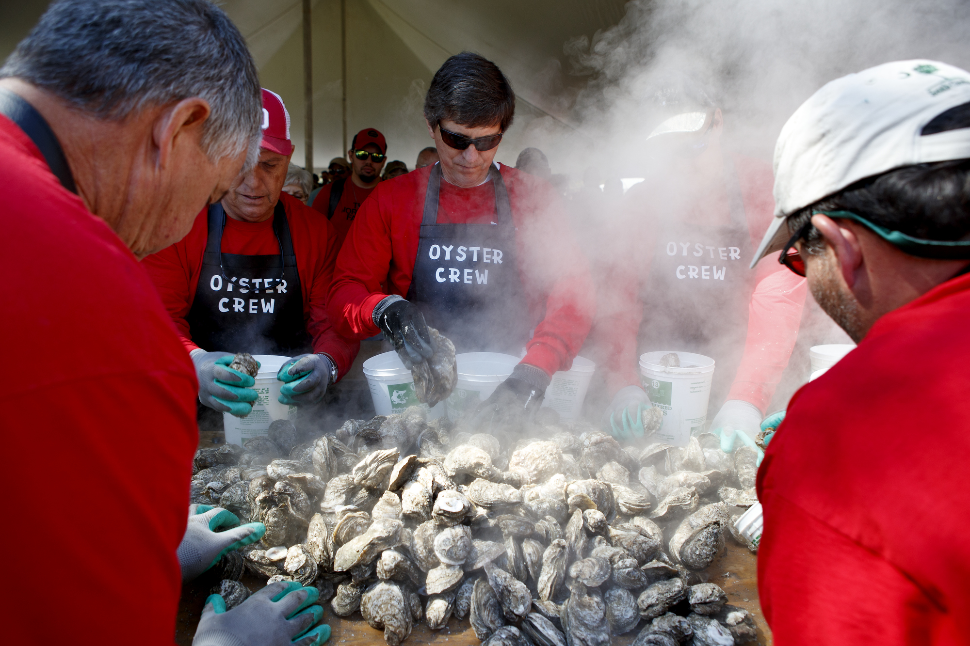 Shuckin' in the Park Oyster Roast Celebrates 20 Years