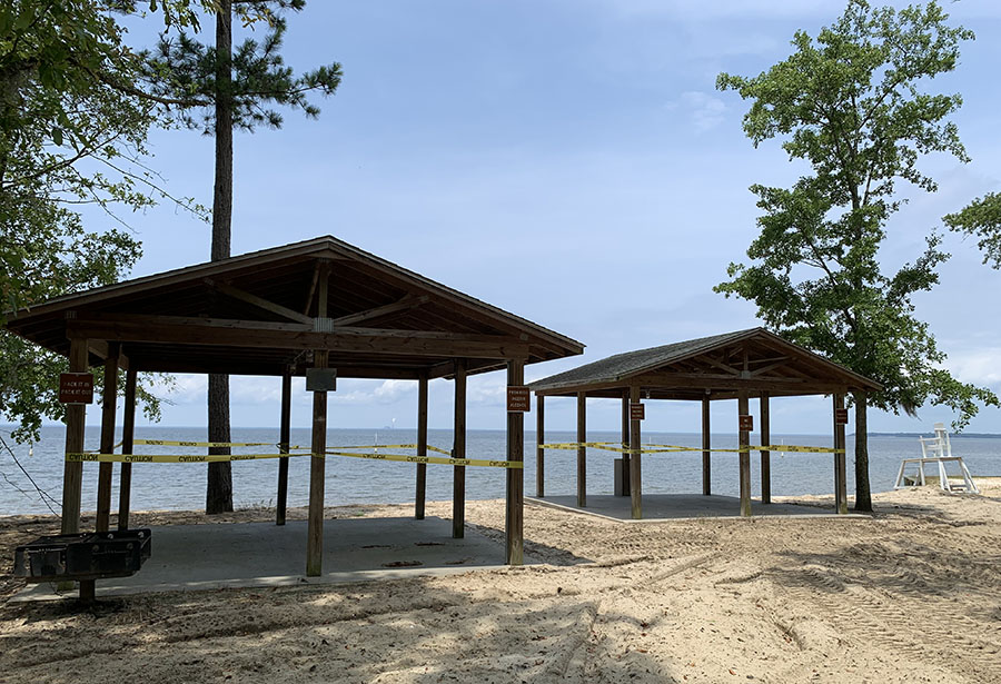Overton Beach Park Closed Until Further Notice
