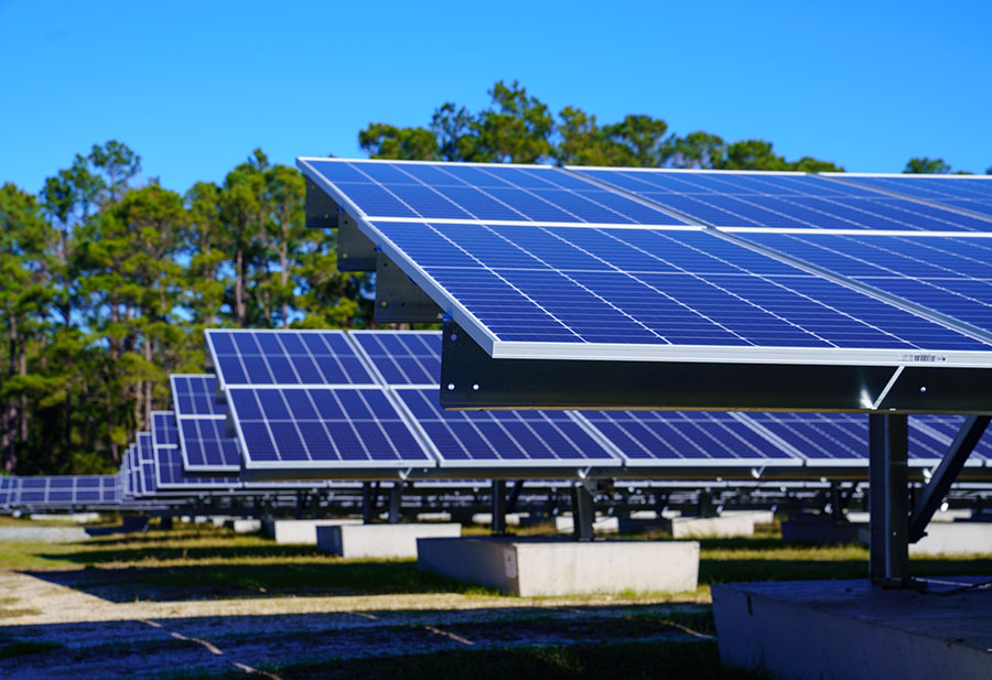 Myrtle Beach's First Utility-Scale Solar Farm