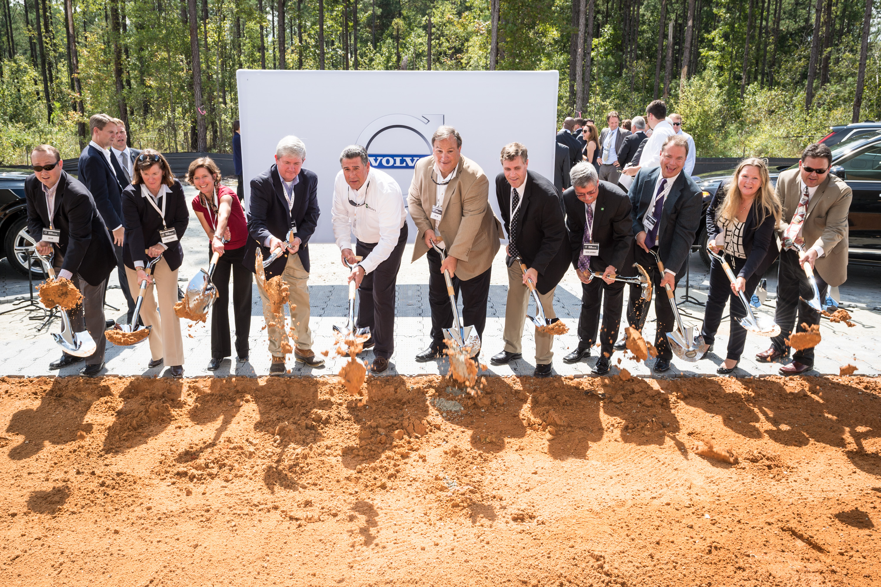 Volvo chooses South Carolina for auto plant
